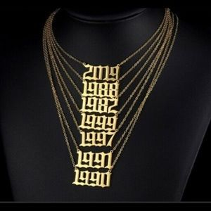 Accessories - Year necklace 90 &99